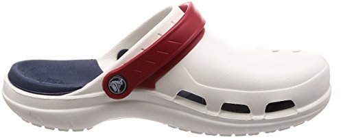 Crocs Modi Sport Clog, Zoccoli Unisex – Adulto White/Navy/Pepper