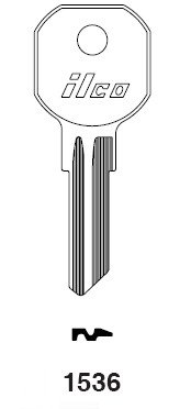 KABA ILCO 1536 Key Hurd For Tool Boxes Rev.1536R - U005453 by Kaba Ilco