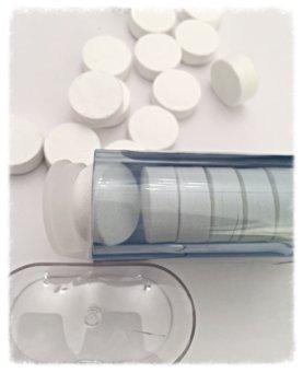 KLES Toallas Comprimidas Con Dispensador Biodegradables, Ahorran Espacio, Absorbente, Refrescante Con Agua, Desechables Para Deportes, Viajes, Belleza, ...