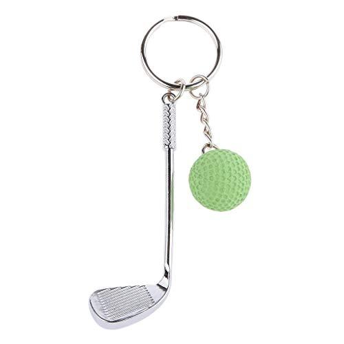 BIJGZ Home Mini Palos de Golf y Bola Colgante Bolso Monedero ...