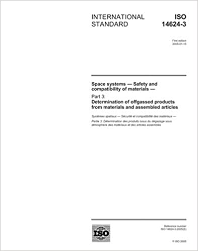 ISO 14624-3:2005, Space systems - Safety and compatibility