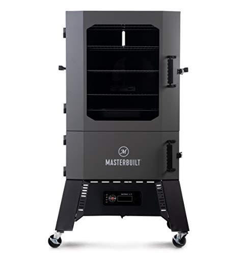 Masterbuilt MB20060321 40-inch Digital Charcoal Smoker, Gray