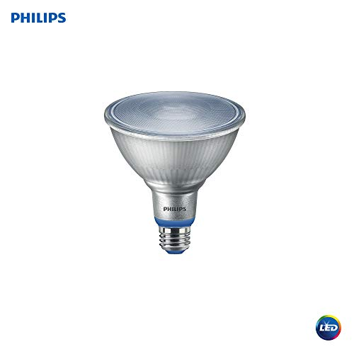 Philips LED 532969 PAR38 Plant Grow Light Bulb: 1200-Lumen, 5000-Kelvin, 16-Watt, E26 Medium Screw Base, 1-Pack, White