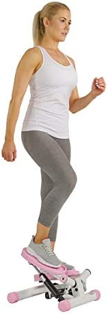 Sunny Health&Fitness P8000 Adjustable Twist Stepper,