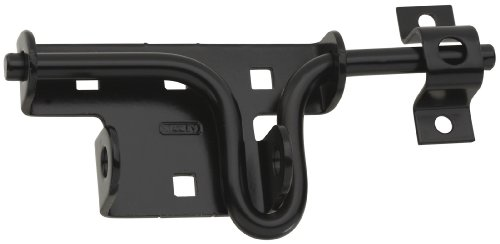 Horse Stall Gate - Stanley Hardware S760-815 1271 Sliding Bolt Door/Gate Latches in Black
