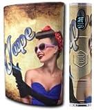 JWraps Real Pin Up Girl Custom E-Cigarette Protective Vinyl Skin Wrap for Pioneer4you IPV5 MOD Vaporizer