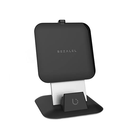 BEZALEL Futura X 15W Fast Charge Charging Pad Compatible with iPhone 11/11 Pro/11 Pro Max/XR/XS/X/8 Plus Galaxy S20/S10… 1 All-New 2017 Futura X Qi wireless charging pad - Ultra-thin, stylish and versatile Simply connect it to a power source, place your device on the charging pad and start charging it wirelessly. Designed with innovation. Crafted with precision - from milled aluminum base to glimmering acrylic surface, plus internal cooling system, which makes the Futura X uniquely stable. Everything was considered; nothing was overlooked.