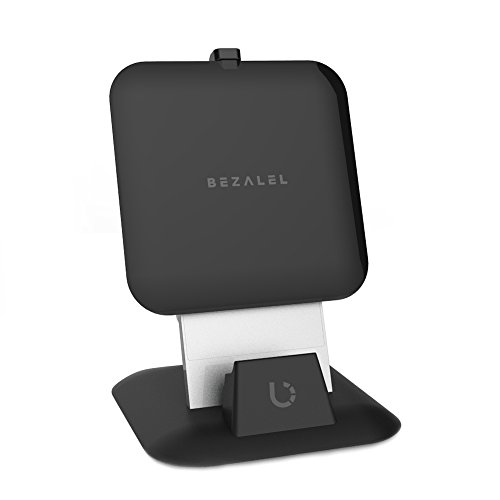 BEZALEL Futura X Qi Wireless Charging Charger Pad for All Qi-enabled Smartphone: Samsung Galaxy S7, S6 Active, S6 Edge, S6 Edge+, Note 5 / Nexus 4, 5, 7 – 2017 version