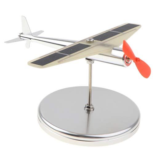 B Blesiya おもちゃ モデル 回転 航空機 おもちゃ 飛行機モデル 全2色選択でき ダイキャスト - オレンジ