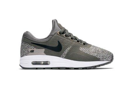 Nike Air Max Zero Se GS Running Trainers 917864 Sneakers Shoes (UK 4 US 4.5Y EU 36.5, River Rock Black Cobblestone 005)