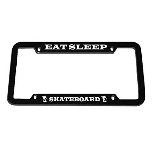 license plate frame skateboard - 8
