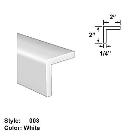 Amazon com: Slippery UHMW Plastic Corner-Mount Screw-In Trim, Style