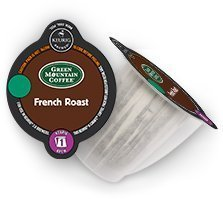 Keurig 2.0 Green Mountain French Roast Coffee , K-Carafe Packs