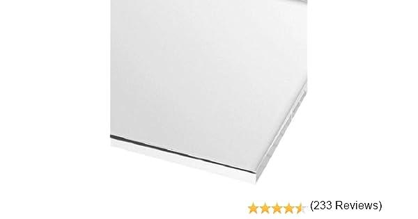 Sign Materials Direct Hoja de plástico acrílico Transparente de 3 mm, 31 tamaños a Elegir (300 mm x 300 mm): Amazon.es: Hogar