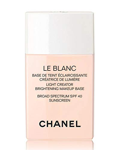 NIB LE BLANC Light Creator Brightening Makeup Base Broad Spectrum SPF 40 Sunscreen, 1.0 oz Color: 10 Rosee New Look! ()