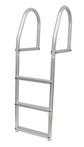 Extreme Max 3005.4102 Weld-Free Fixed Dock Ladder - 3-Step (3 Step Dock Ladder)