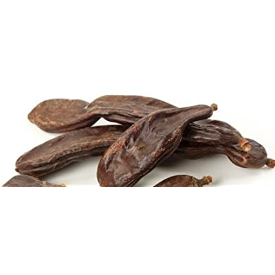 Carob Bean Pods, Whole - Wildcrafted - Ceratonia siliqua (454g = One Pound) Brand: Herbies Herbs: Health & Personal Care