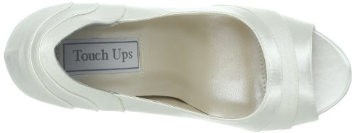 White Mary Touch Pump White Women's Emmy Satin Jane Ups rqYwxtY7z