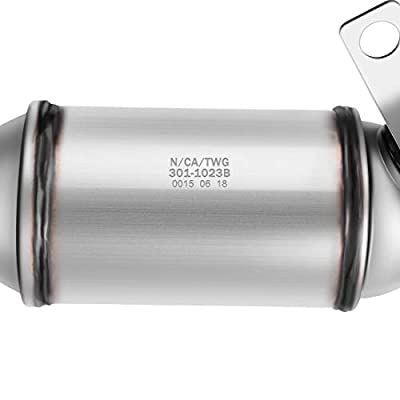 Catalytic Converter for 09-17 GMC Acadia/Buick Enclave/Chevy Traverse | 09-10 Saturn Outlook 3.6L Radiator Side/Bank 2 (EPA Compliant): Automotive