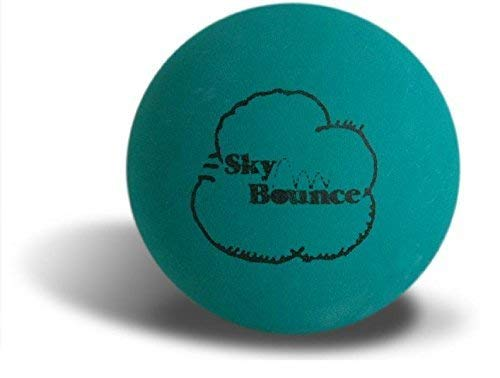 Sky Bounce Color Rubber Handballs for Recreational Handball, Stickball, Racquetball, Catch, Fetch, and Many More Games, 2 1/4-Inch, Green, 12 Count