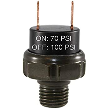 for Train Horns Viking Horns VPS-110PSI//3 Three Pack Deal Air Pressure Switchs Rated 90//110