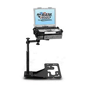 (Universal No-Drill(TM) Laptop Mount for Freightliner Trucks, International Trucks, Kenworth Trucks, Mack Trucks, Peterbilt Trucks & Volvo Trucks)