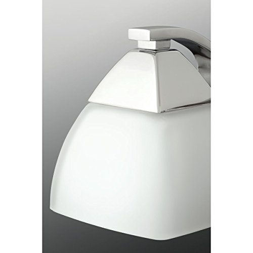 Progress Lighting P2703-15 Contemporary Soft 4-100W Med Bath Bracket, Polished Chrome