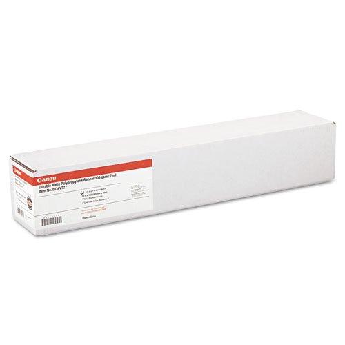 """Durable Matte Polypropylene Banner Paper 24/"""" x 100 feet Roll"""