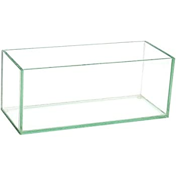 Amazon Glass Rectangle Vase H 4 Open 8 X 4 Home Kitchen