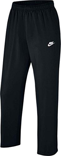NIKE New Men's Sportswear Pants Black/Black/White Large ()