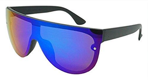 Funny Guy Mugs Rad Unisex Retro Mirrored Sunglasses, - For Guys Big Sunglasses