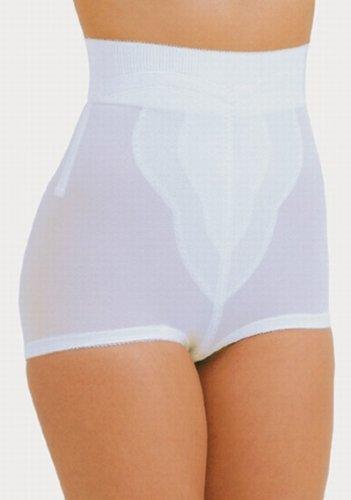 Rago Shapeware High Waist Pantie Girdle Style 6296 - White - 5XLarge High Waist Pantie Girdle