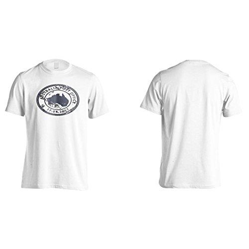 Neue Australien Postamt Herren T-Shirt m255m