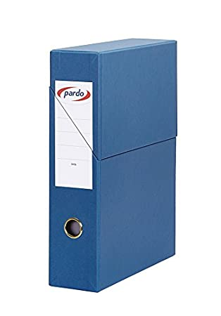 Pardo 879507 - File Wallet 80mm Blue