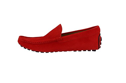 Blaine E6013519 Red Shoe Harmont Camoscio 42 Rot