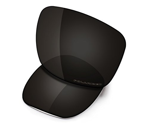 Saucer Premium Replacement Lenses for Oakley Jupiter Squared OO9135 Sunglasses High Defense - Carbon Black ()