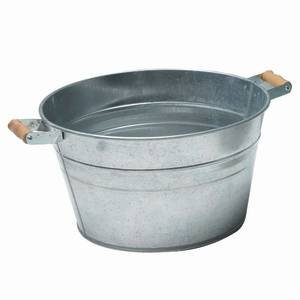 """18"""" Round Tub with Handles, 9 Gallon"""