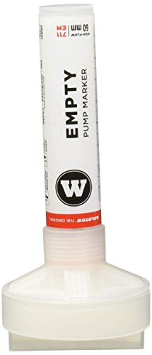 Molotow Masterpiece Empty Acrylic Paint Marker, 60mm, Compatible with Most Paints and Inks (711.000)