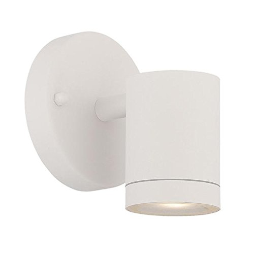 Acclaim 1401TW LED Wall Sconces Collection 1-Light Wall Mount Outdoor Light Fixture, Textured White