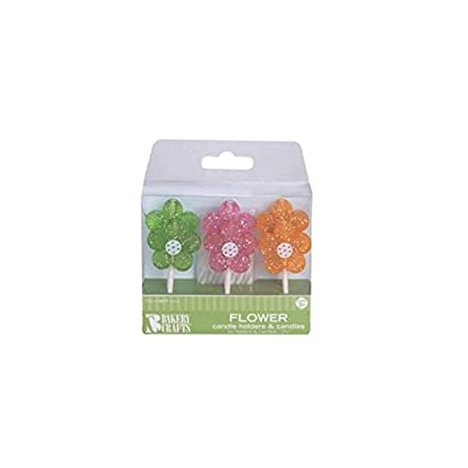 Amazon Oasis Supply Glitter Flowers Candle Holders With