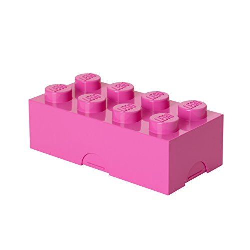 LEGO Lunch Box, Medium Pink