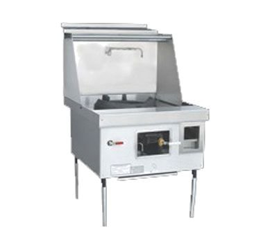 Town Foodservice Equipment E-1-SS Lp Express Wok Range, 1 Chamber, Lower Right Sink, Stainless by Town Foodservice Equipment