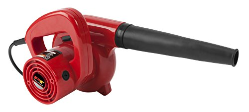 Performance Tool W50063 Compact Red 600 Watt  Garage/Shop/ Blower/Patio Blower (16,000 Max RPM, 75+ MPH Air Flow)