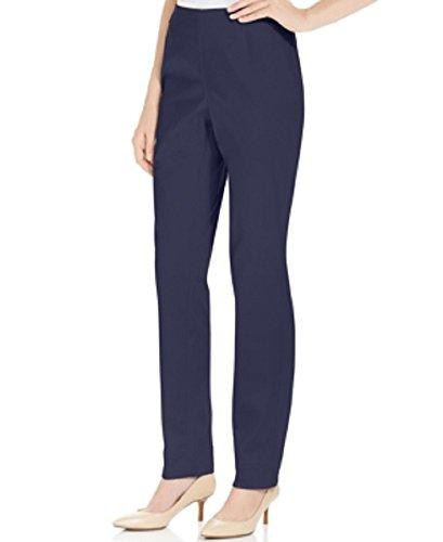 Sateen Side Zip Pants (Charter Club Sateen Side-zip Ankle Pants Intrepid Blue)