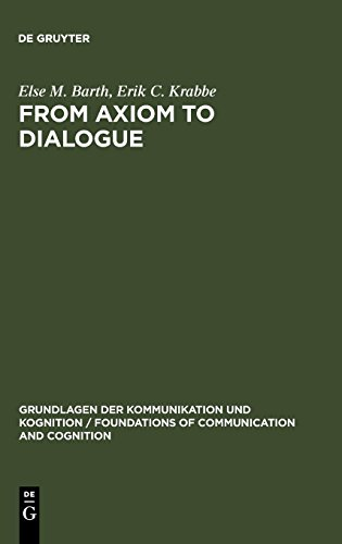 From Axiom to Dialogue: A Philosophical Study of Logics and Argumentation (Foundations of Communication)