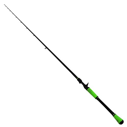 Lews Fishing MHWR Fishing, Mach Speed Stick Casting Rod, 7' Length, 1Piece Rod, 12-20 lb Line Rating, Medium/Heavy ()
