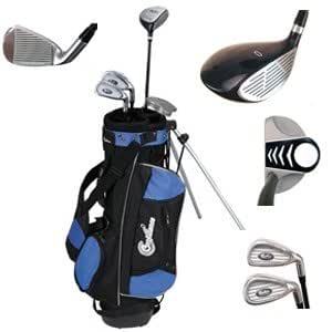 Confidence Junior Golf Club Set with Stand Bag (Left Hand, Ages 4-7)