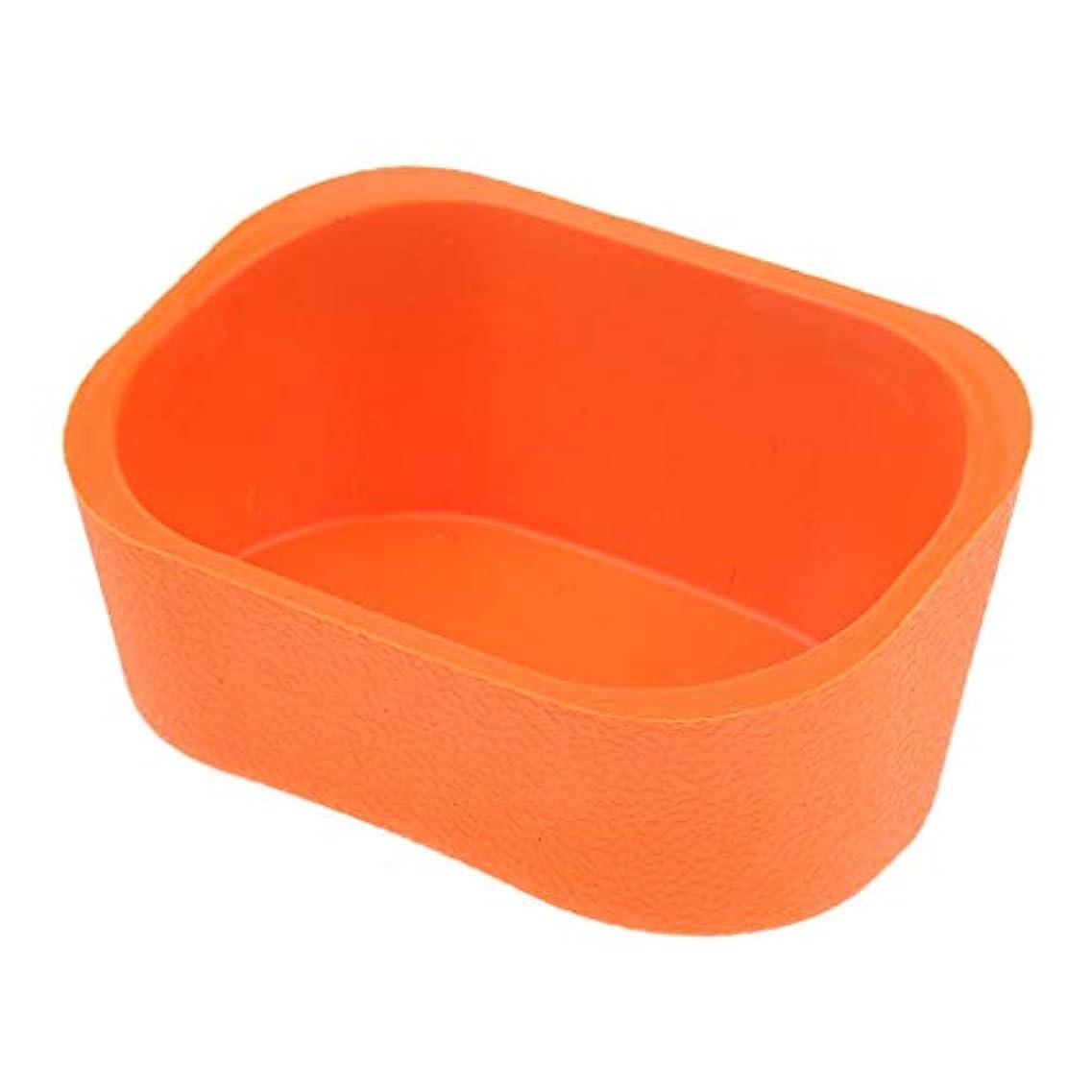 部マスタード発表するBaoblaze シャンプーボウル ネックレス クッション ピロー ヘアサロン ソフト シリコンゲル 5色選べ - オレンジ