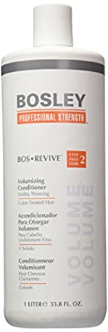 Bosley Professional Strength Bosrevive Conditioner For Color-Treated Hair, 33.8 oz. (Bosley Hair Conditioner)
