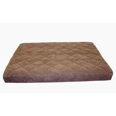 Carolina Pet Jamison Protector Pad Quilted OOPS Bed for Pets, Large, Chocolate by Carolina Pet